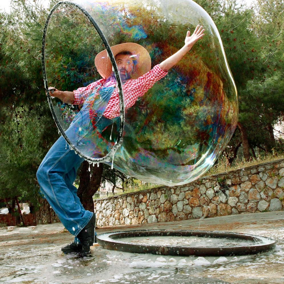 Bubble Performance 06 Athens