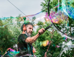 Bubble Show Κοσμοναύτες