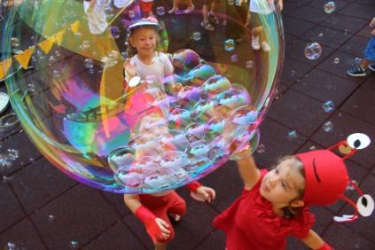 ιστορίες από τον βυθό bubble performance