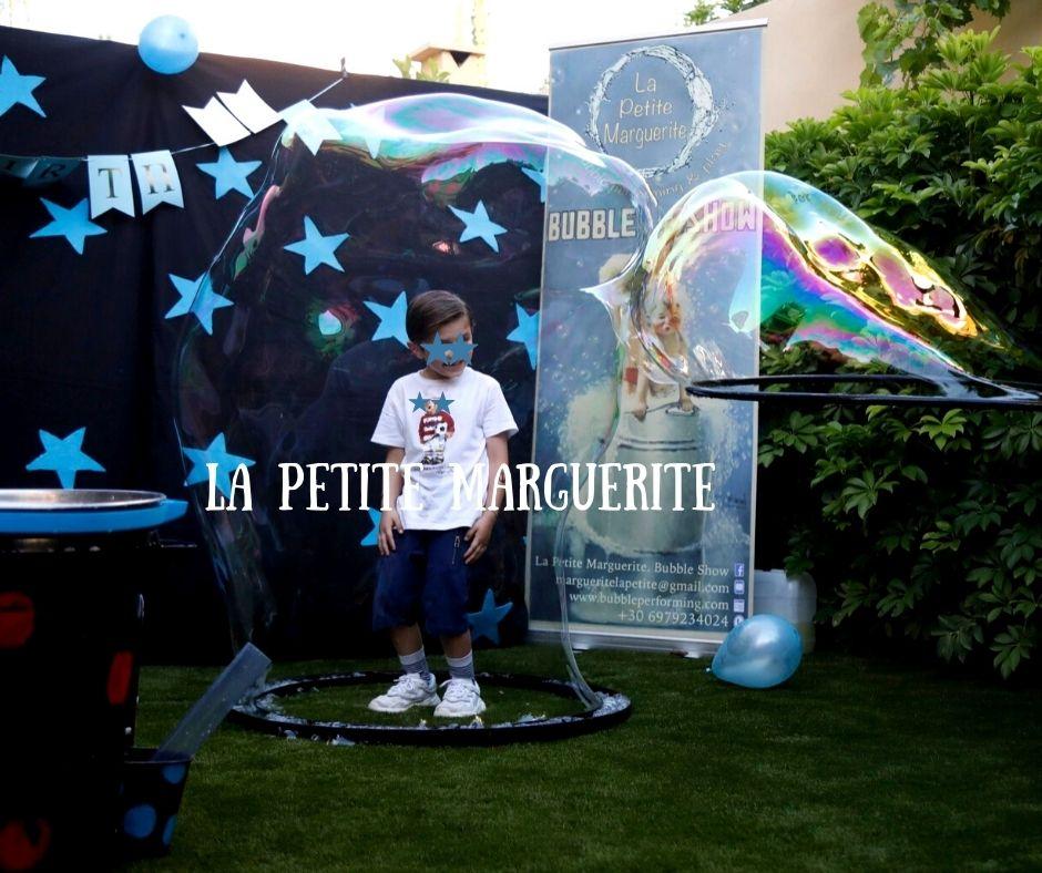 bubble show | party με σαπουνόφουσκες 01